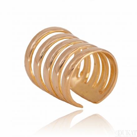 Złoty kolczyk NAUSZNICA